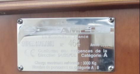 CE-marking of Rhumb Runner