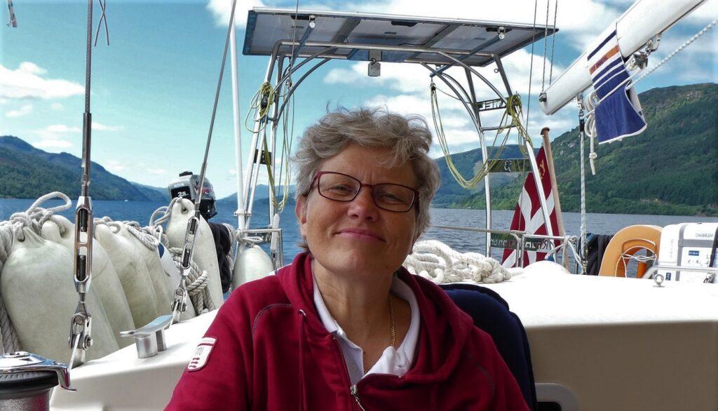 Photo of Kirsten in Lochness 2019